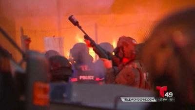 Miami En Toque De Queda Por Violentas Protestas Telemundo Tampa 49