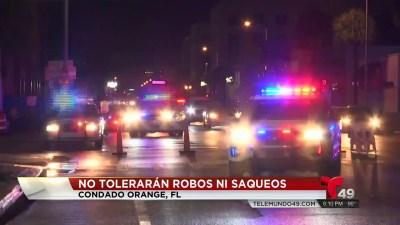 Orlando Tiene Toque De Queda Por Los Saqueos Telemundo Tampa 49