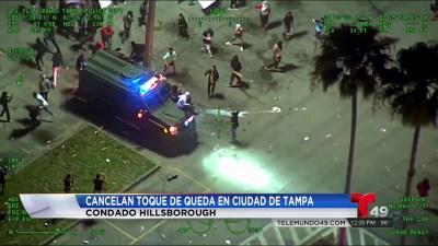 Tampa Cancela Toque De Queda Tras Manifestaciones Por George Floyd Telemundo Tampa 49