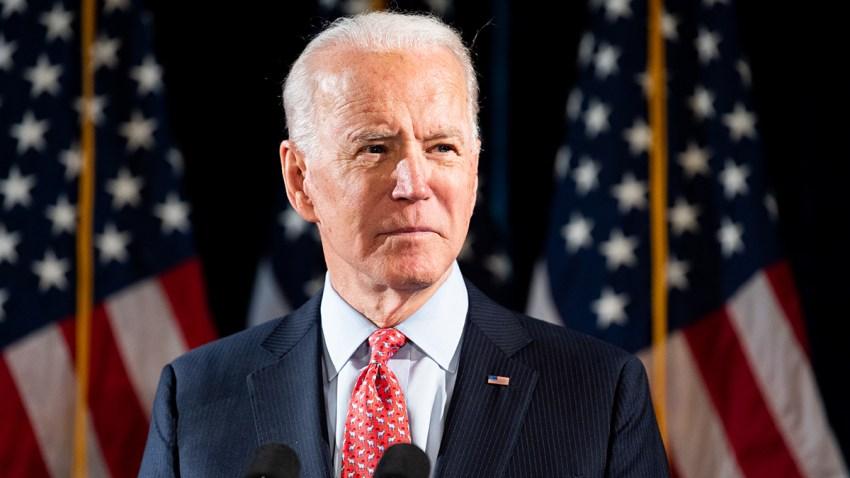 Foto del precandidato demócrata Joe Biden, este pasado 12 de marzo.