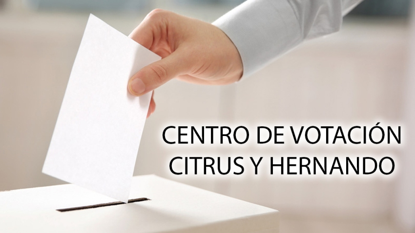 centro votacion CITRUS HERNANDO