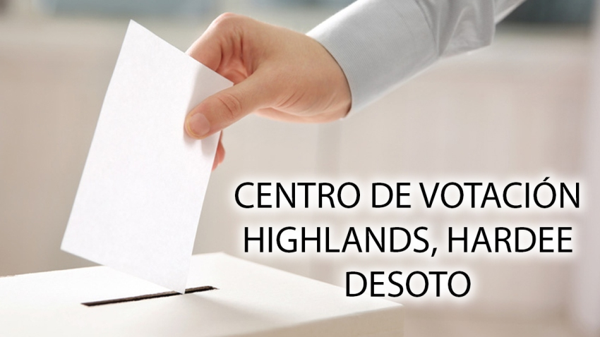 centro votacion DESOSO highlands hardee