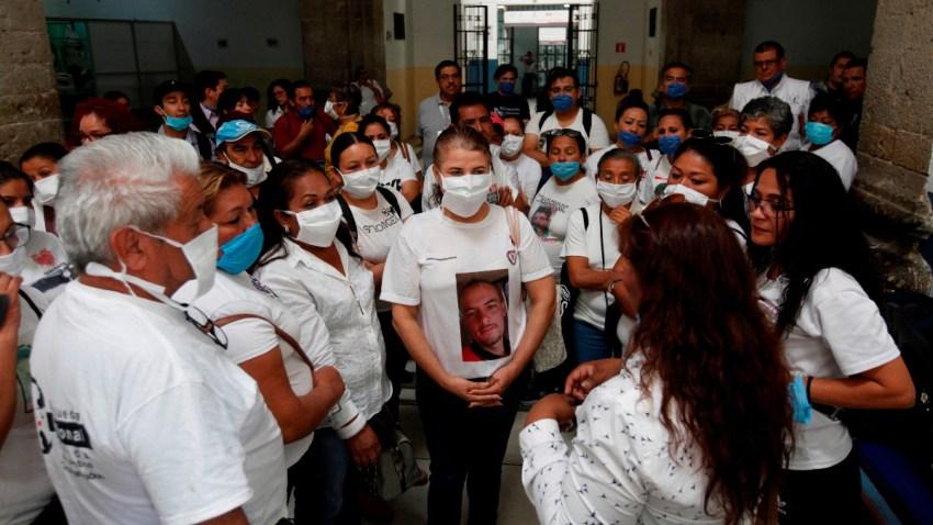 Familias de desaparecidos los buscan vivos