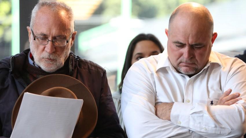 Activistas Javier Sicilia y Julián LeBarón.