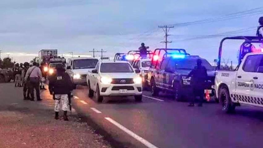 Operativo policial en Zacatecas