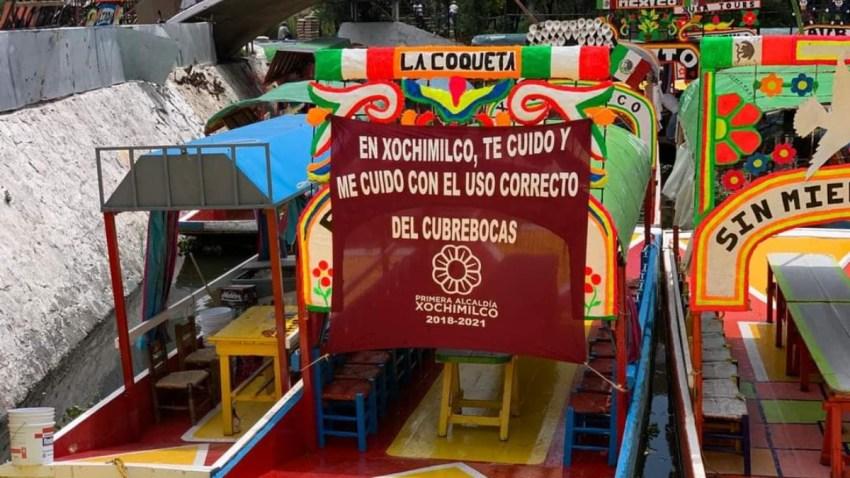 Trajinera de Xochimilco
