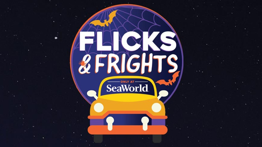 Auto cine en SeaWorld