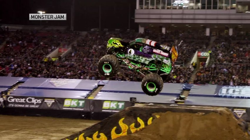 Monster Jam will come roaring into AT&T Stadium for its first in-person event with fans since the start of the pandemic.