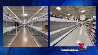 Escasez de productos ante la pandemia de COVID-19 durante las fiestas