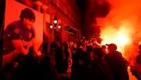 Nápoles también despide a Maradona como un ídolo