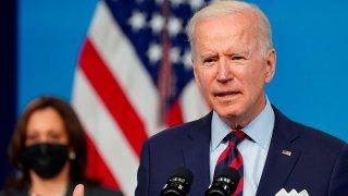 En la imagen, el presidente de Estados Unidos, Joe Biden. EFE/EPA/Leigh Vogel