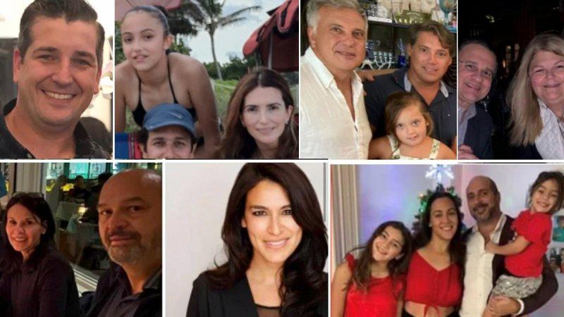 Desplome en Miami Beach: algunas de las personas desaparecidas tras el derrumbe del edificio