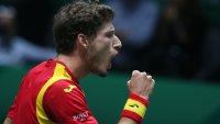 Bronce y llanto: la emoción de Carreño al ganarle a Djokovic